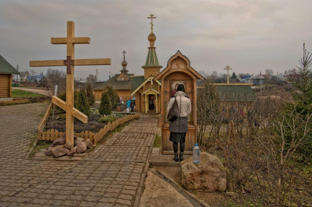 Источник в Дивеево в честь Казанской иконы Божией Матери