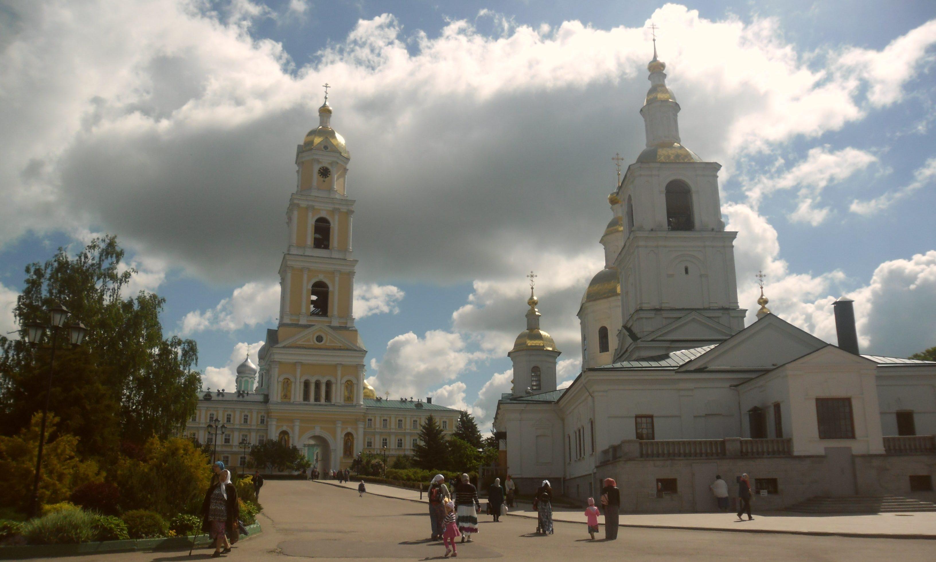 Казанский храм в Серафимо-Дивеевском монастыре