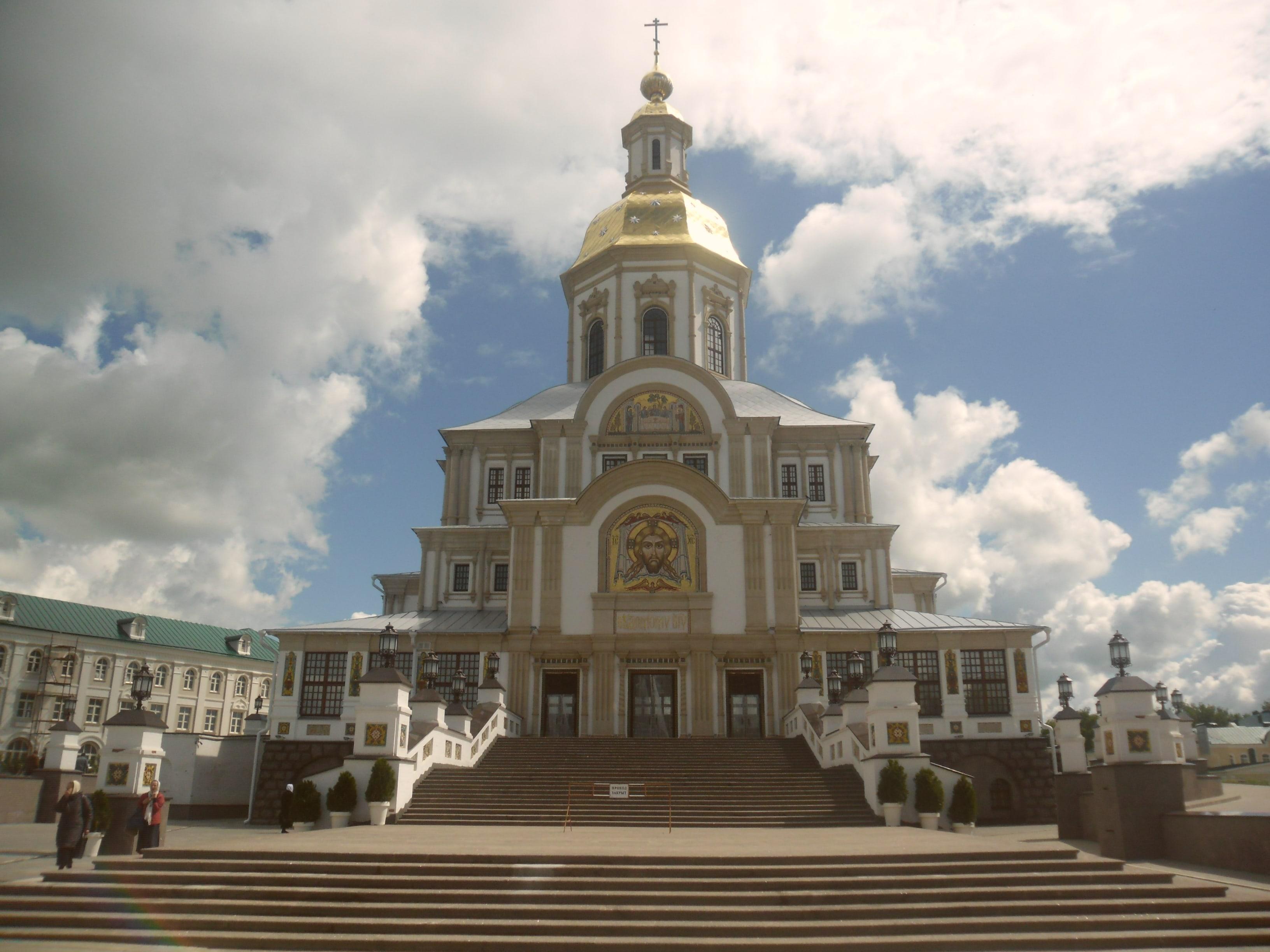 Новый храм в Дивеево