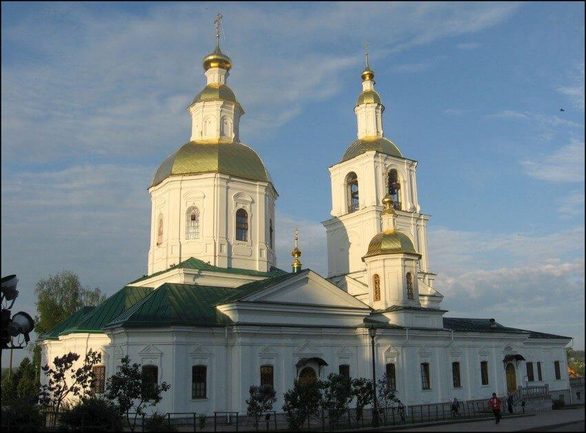 Казанская церковь в Дивеево