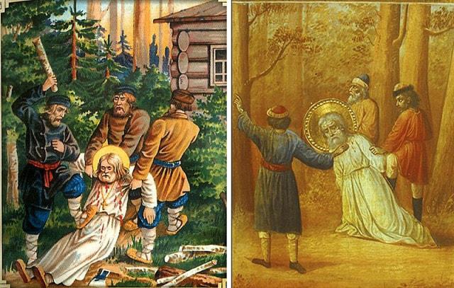 Святому Серафиму Саровскому молятся об исцелении болезней ног и суставов