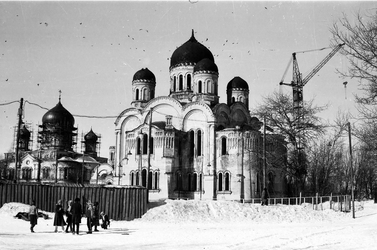 Восстановление Серафимо-Дивеевского монастыря