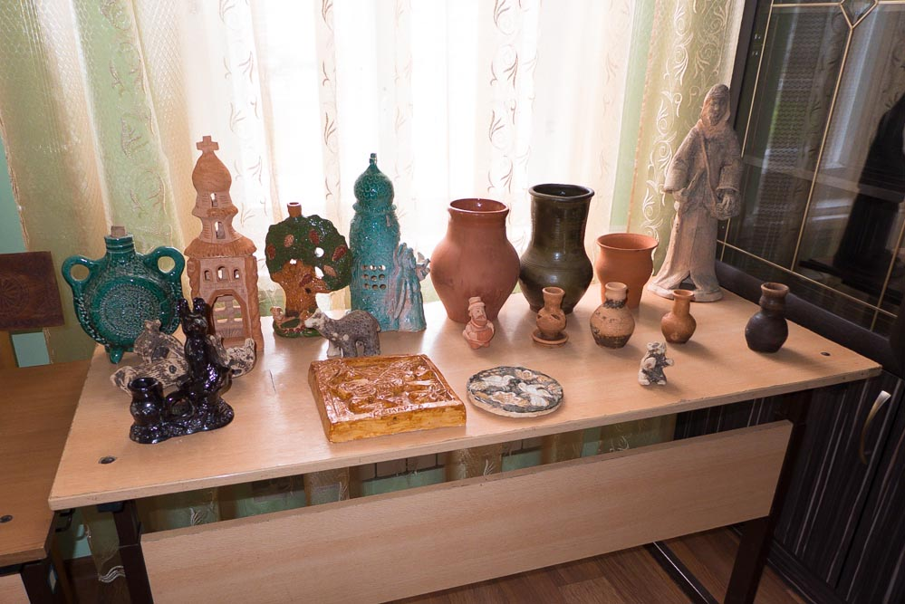 Работы учеников художественной школы в Дивеево