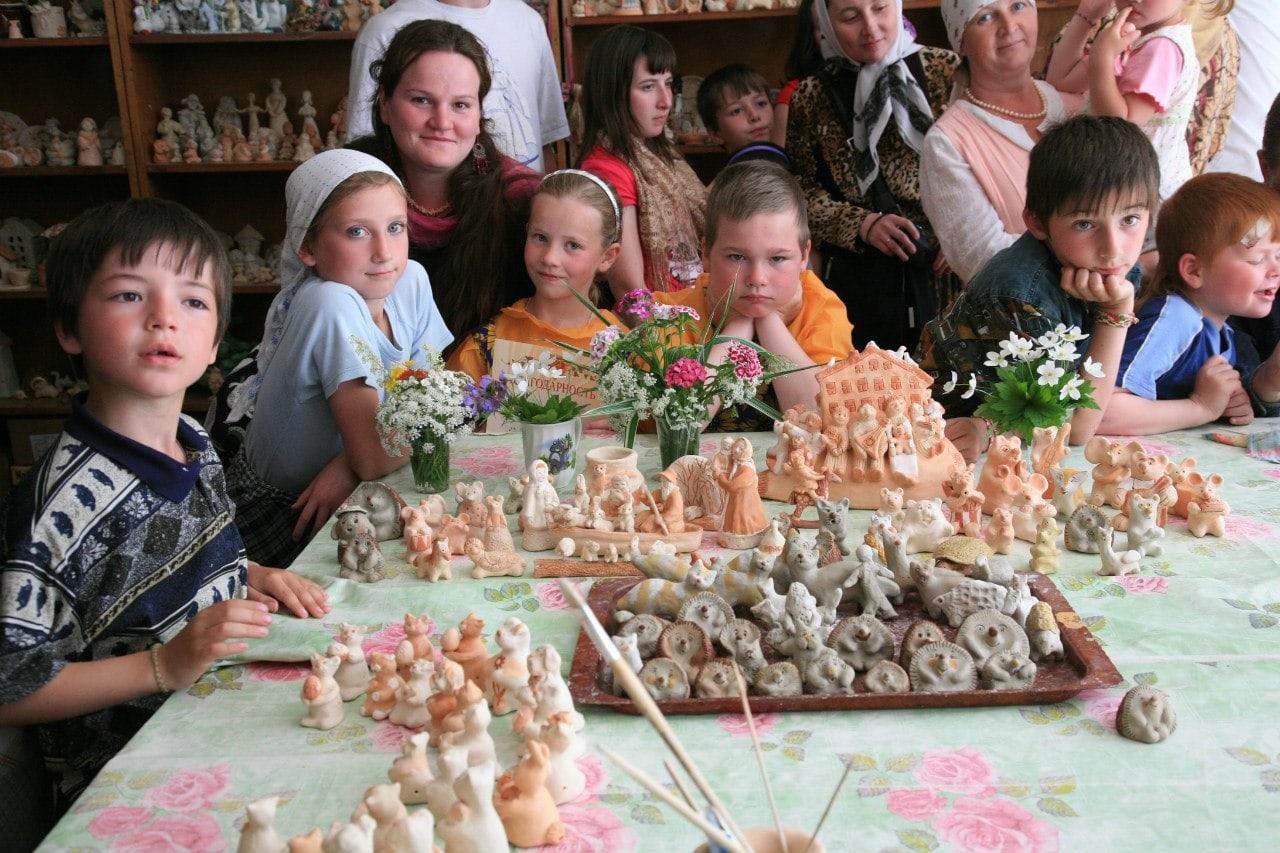 Дивеевский музей игрушки и керамики