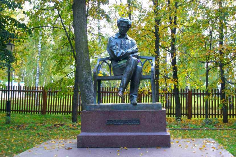 парк пушкина в болдино