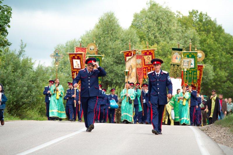 нижегородский крестный ход до Дивеево