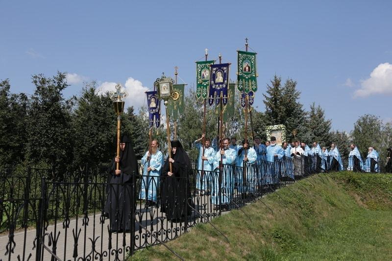 Серафимо-Дивеевская икона Божией Матери «Умиление» - праздник
