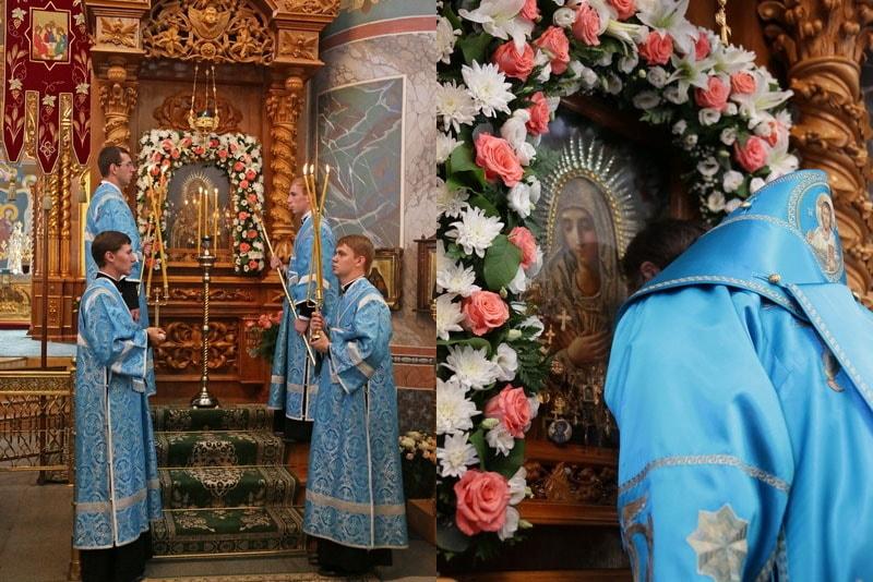 Серафимо-Дивеевская икона Божией Матери «Умиление» - торжества