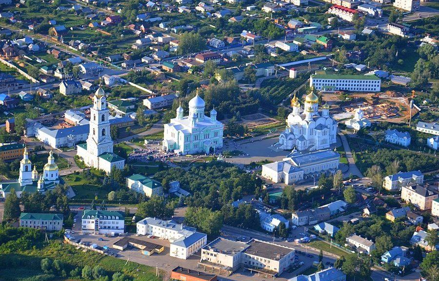 возрождение села Дивеево