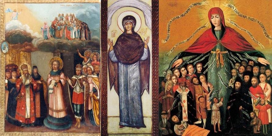 Что означает икона Покров Пресвятой Богородицы