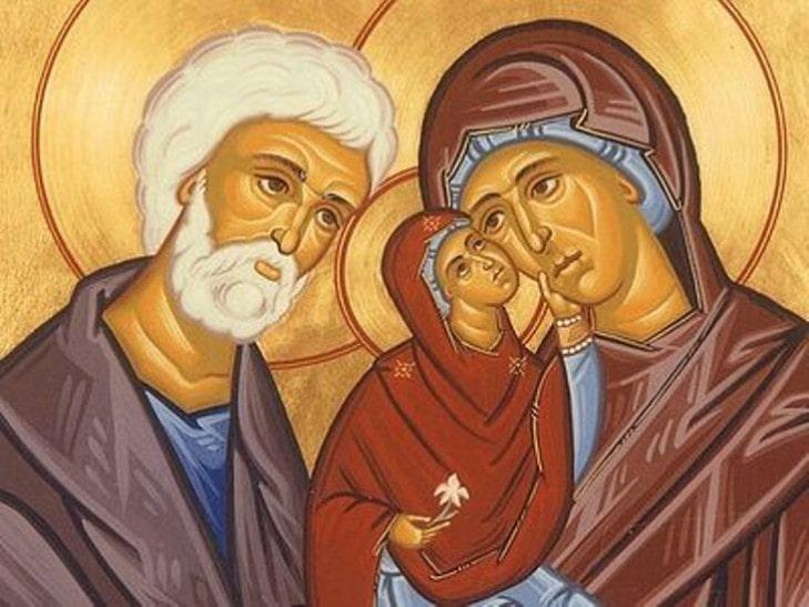 Рождество Богородицы икона