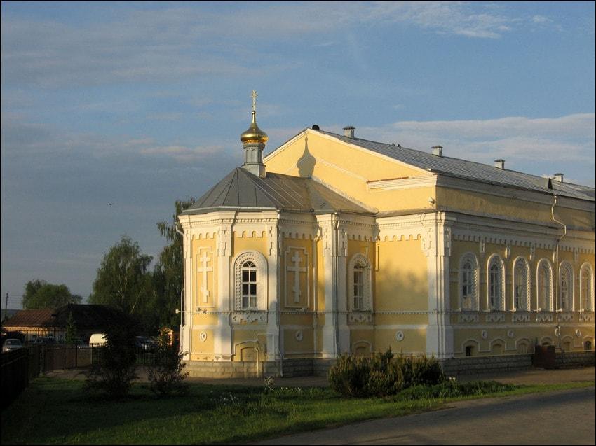 храм Александра Невского в Дивеево