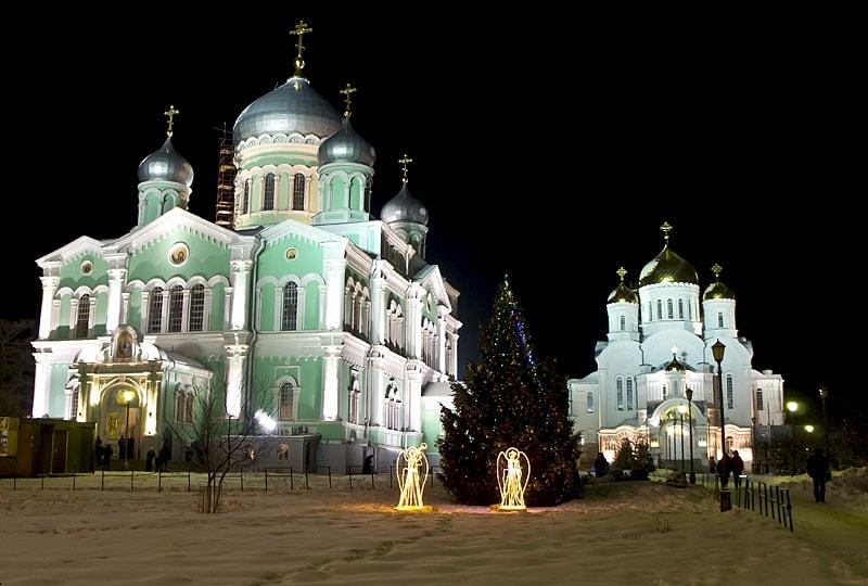 Новый Год в Дивеево