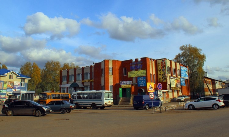 Автовокзал в Дивеево