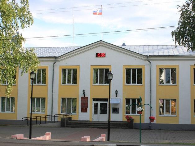 Старое здание администрации Дивеево
