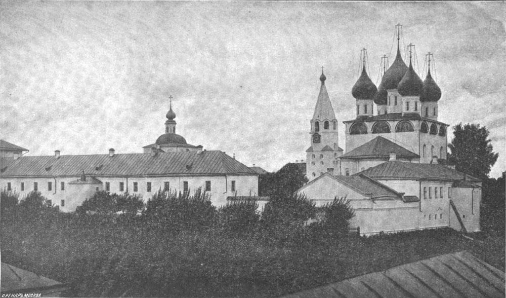 монастырь фролищи нижегородская область