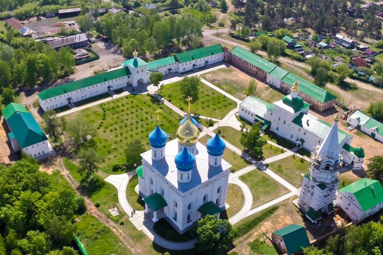 Свято-Успенский мужской монастырь Флорищева пустынь
