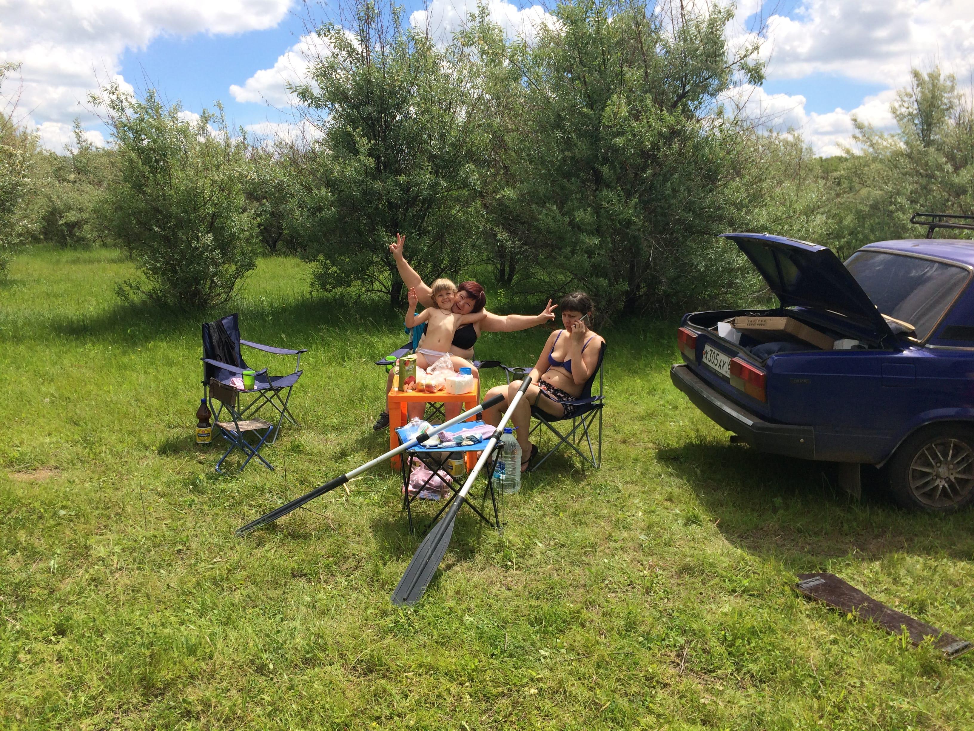 Семейная рыбалка в Нижегородской области