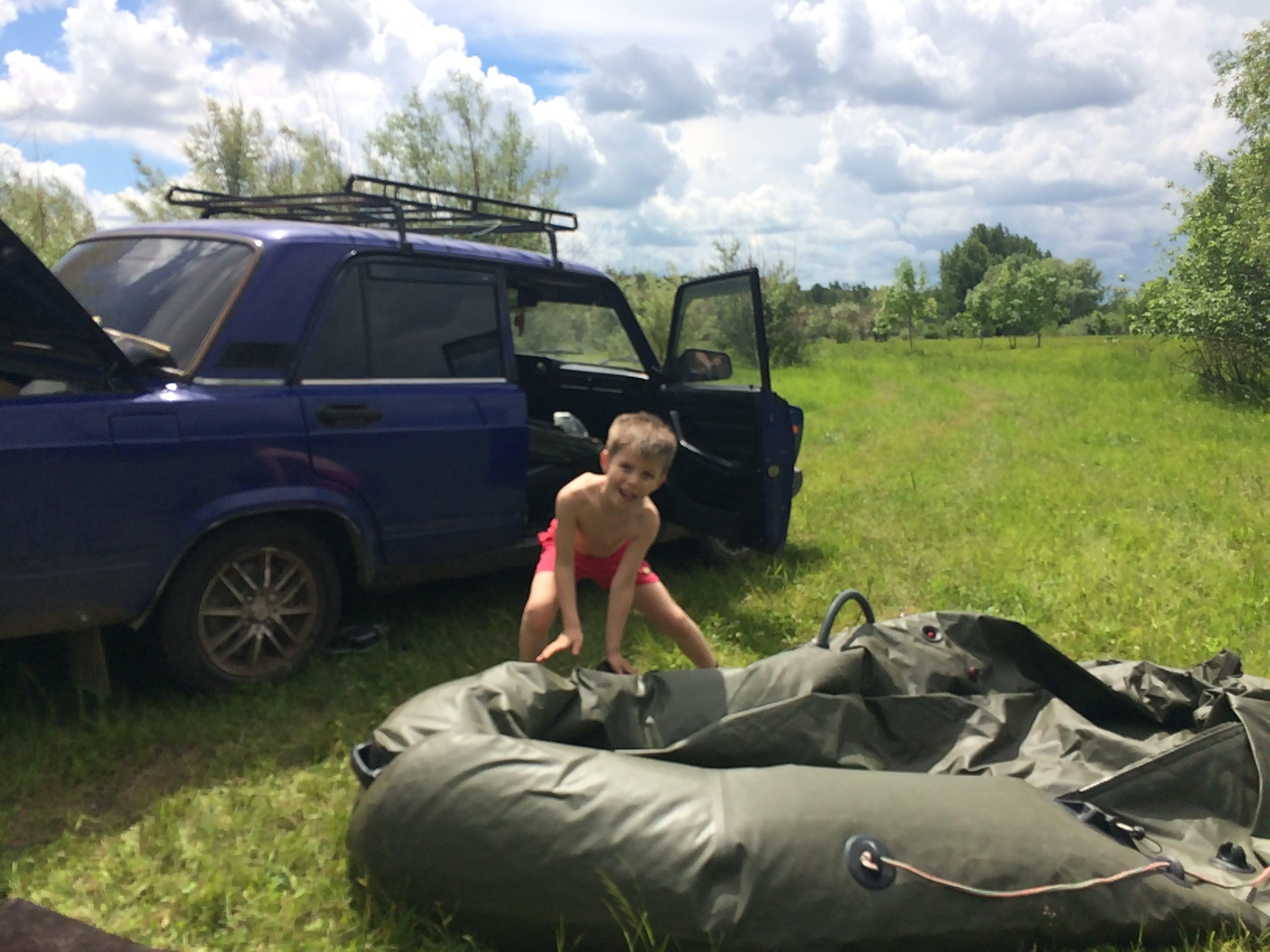 Рыбалка с лодки в Нижегородской области