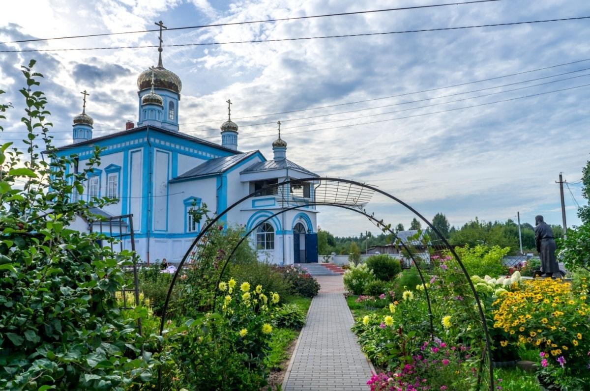 Монастырь-собор иконы Богоматери «Утоли моя печали» в селе Дальнее Давыдово