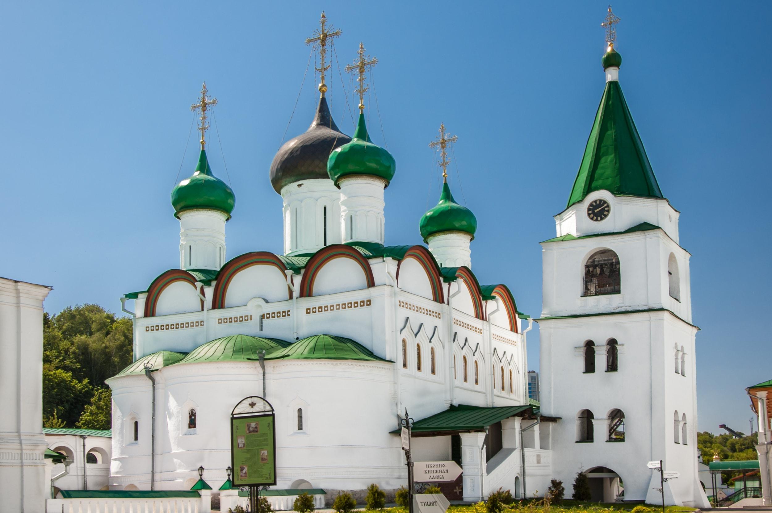 Свято-Вознесенско-Печерский – в Нижнем же Новгороде