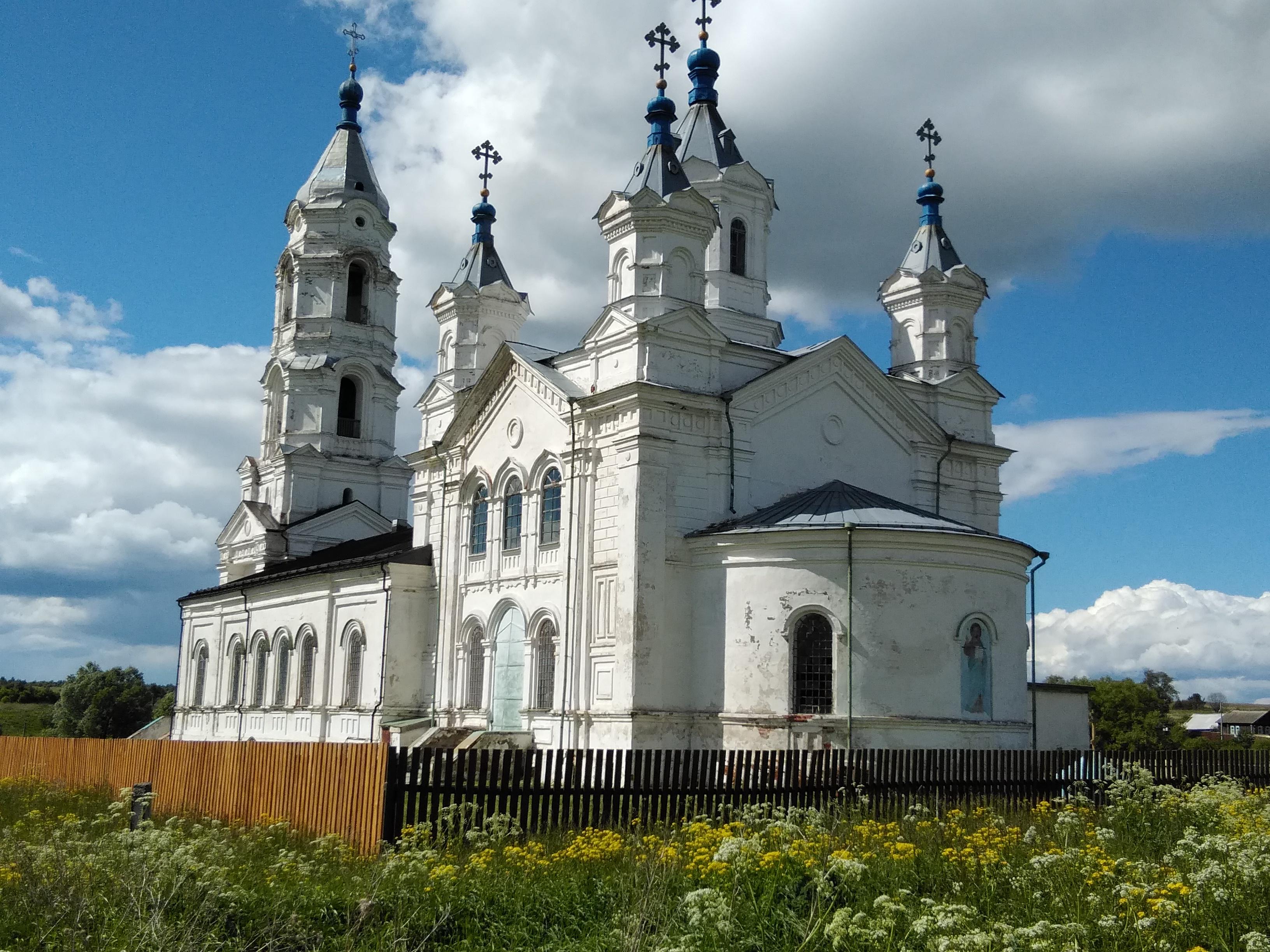 с Кременки церковь Покрова Пресвятой Богородицы