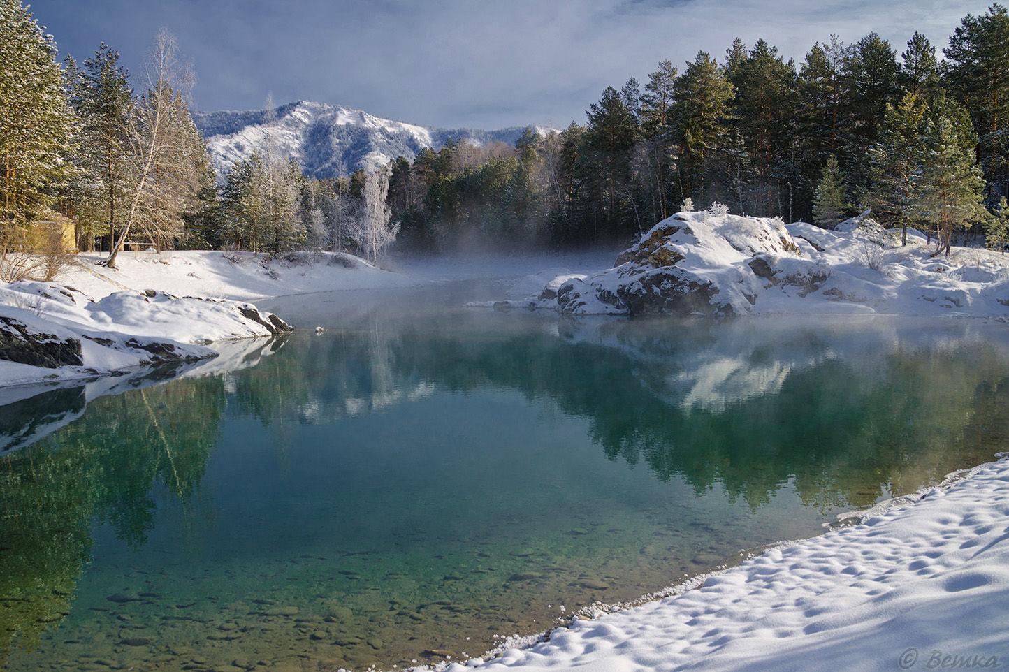 самые интересные места России для туристов - голубые озера